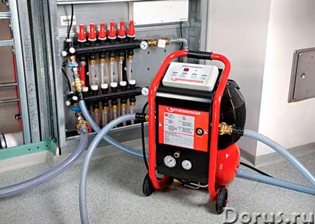 Гидродинамическая промывка и опрессовка систем отопления - Строительные услуги - Компания Фора предс..., фото 3